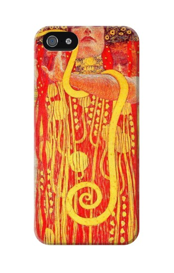 Printed Gustav Klimt Medicine Iphone 5C Case