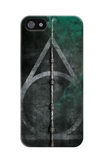 Printed Harry Potter Magic Wand Iphone 5C Case