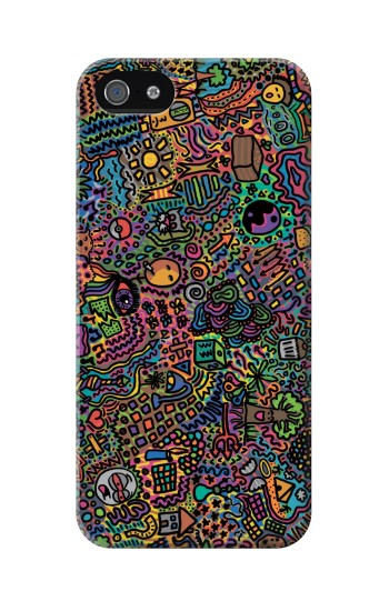 Printed Psychedelic Art Iphone 5C Case
