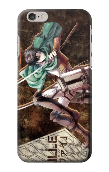 Printed Attack on Titan Rivaille Iphone 6 plus Case
