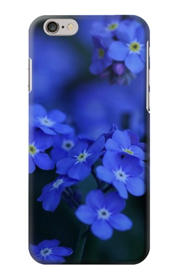 Printed Forget me not Iphone 6 plus Case