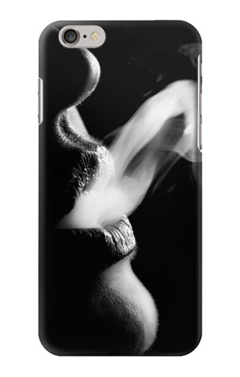 Printed Sexy Lip Girl Smoking Iphone 6 plus Case