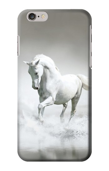 Printed White Horse Iphone 6 plus Case