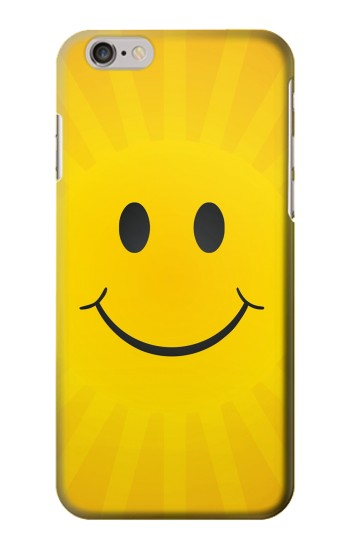 Printed Yellow Sun Smile Iphone 6 plus Case