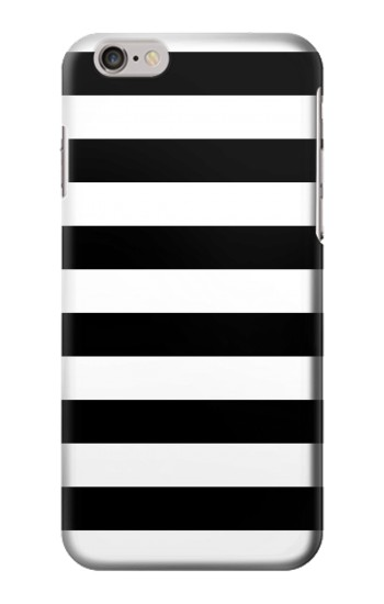 Printed Black and White Striped Iphone 6 plus Case