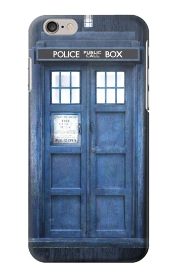 Printed Doctor Who Tardis Iphone 6 plus Case