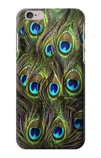 Printed Peacock Feather Iphone 6 plus Case