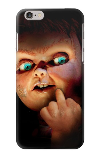 Printed Chucky Middle Finger Iphone 6 plus Case