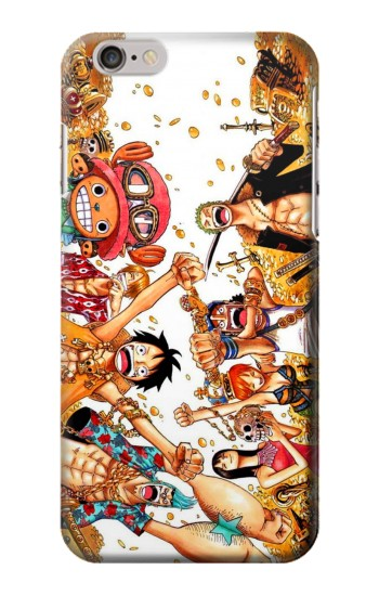 Printed One Piece Straw Hat Luffy Pirate Crew Iphone 6 plus Case