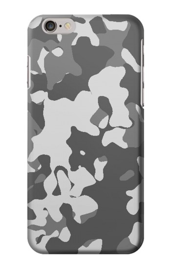 Printed Gray Camo Camouflage Graphic Printed Iphone 6 plus Case