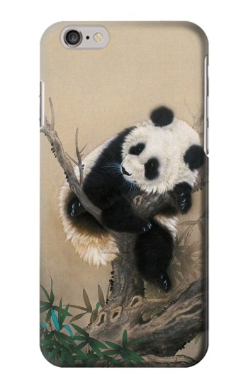 Printed Panda Fluffy Art Painting Iphone 6 plus Case