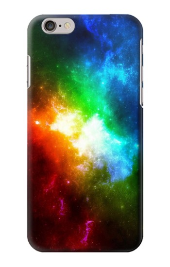 Printed Colorful Rainbow Space Galaxy Iphone 6 plus Case
