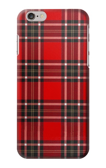Printed Tartan Red Pattern Iphone 6 plus Case