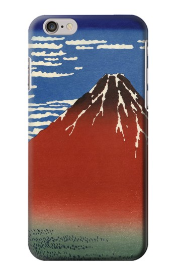 Printed Katsushika Hokusai Red Fuji Iphone 6 plus Case