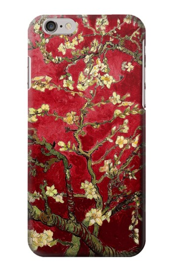 Printed Red Blossoming Almond Tree Van Gogh Iphone 6 plus Case