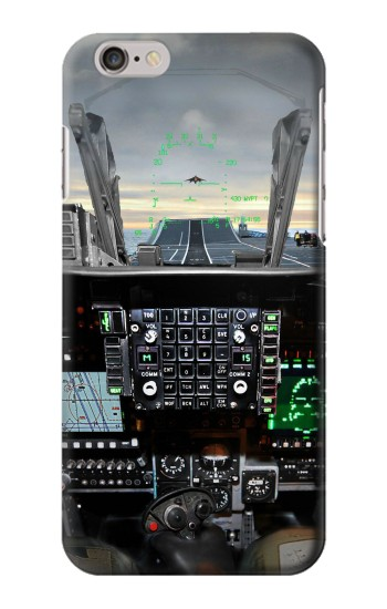 Printed Fighter Jet Aircraft Cockpit Iphone 6 plus Case