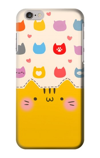 Printed Cute Cat Pattern Iphone 6 plus Case