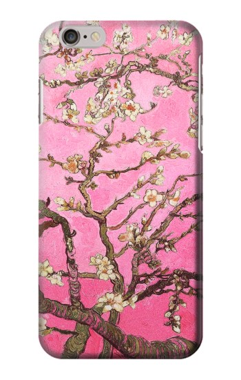 Printed Pink Blossoming Almond Tree Van Gogh Iphone 6 plus Case