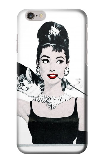 Printed Audrey Hepburn Breakfast at Tiffany Iphone 6 plus Case