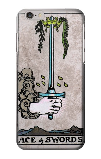 Printed Tarot Ace of Swords Iphone 6 plus Case