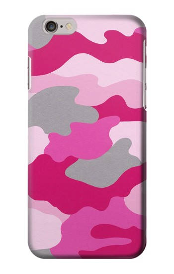 Printed Pink Camouflage Iphone 6 plus Case