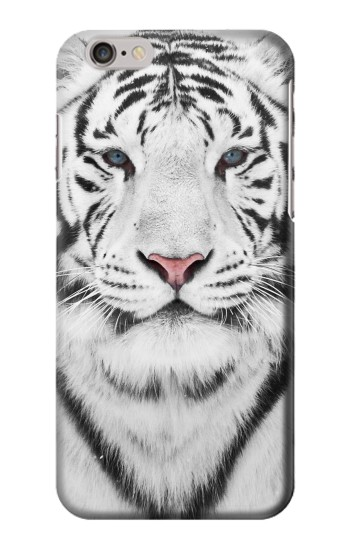 Printed White Tiger Iphone 6 plus Case