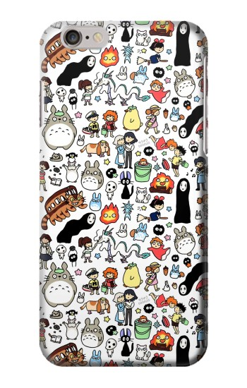 Printed Ghibli Characters Iphone 6 plus Case