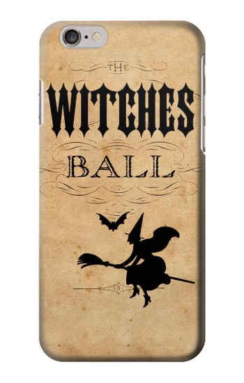 Printed Vintage Halloween The Witches Ball Iphone 6 plus Case