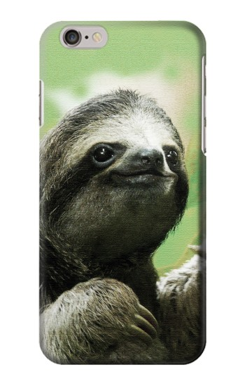 Printed Smiling Sloth Iphone 6 plus Case