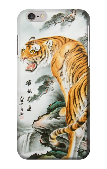 Printed Chinese Tiger Painting Tattoo Iphone 6 plus Case
