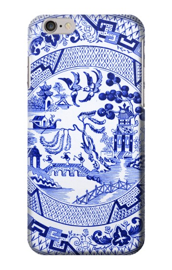 Printed Willow Pattern Illustration Iphone 6 plus Case
