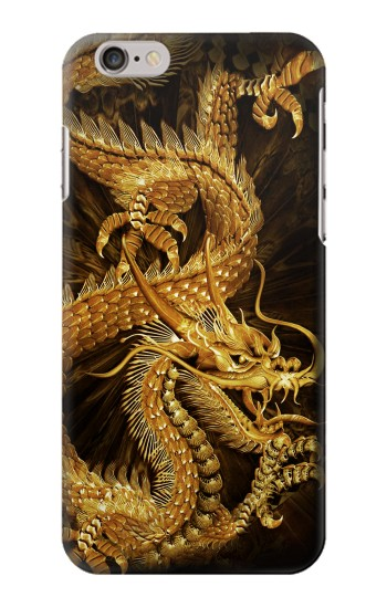 Printed Chinese Gold Dragon Printed Iphone 6 plus Case
