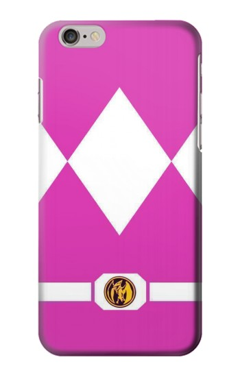 Printed Ladies Pink Mighty Morphin Power Ranger Minimalist Iphone 6 plus Case