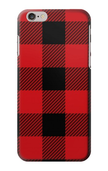 Printed Red Buffalo Check Pattern Iphone 6 plus Case