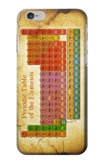 Printed Vintage Periodic Table of Elements Iphone 6 plus Case