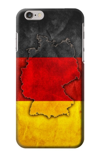 Printed Germany Flag Map Iphone 6 plus Case