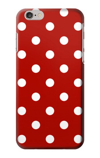 IPHONE 6 PLUS Red Polka Dots Case Cover
