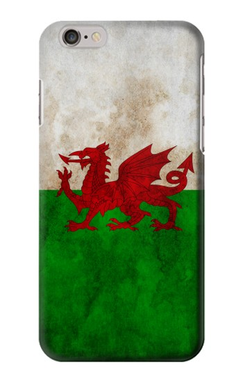 Printed Wales Red Dragon Flag Iphone 6 plus Case