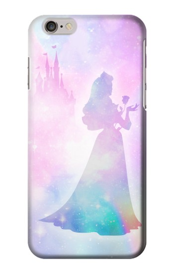 Printed Princess Pastel Silhouette Iphone 6 plus Case