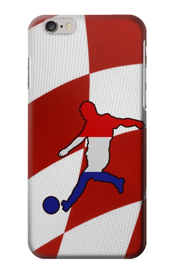 Printed Croatia Football Flag Iphone 6 plus Case