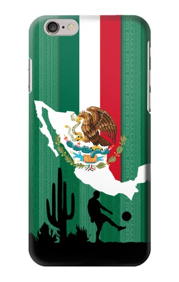 Printed Mexico Football Flag Iphone 6 plus Case