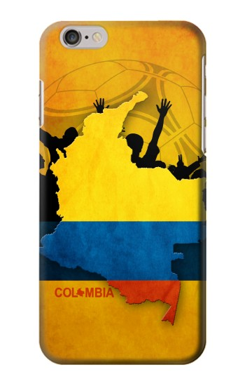 Printed Colombia Football Flag Iphone 6 plus Case