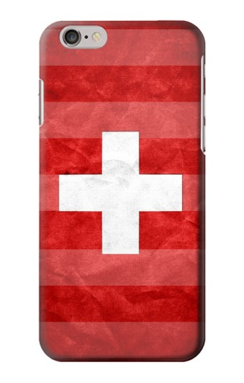 Printed Switzerland Football Flag Iphone 6 plus Case