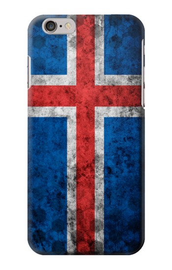 Printed Iceland Football Flag Iphone 6 plus Case