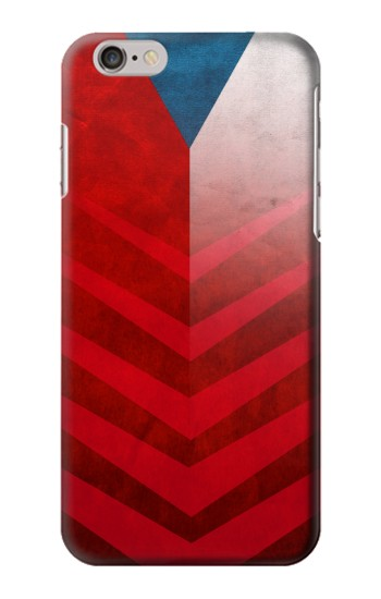 Printed Czech Republic Football Flag Iphone 6 plus Case