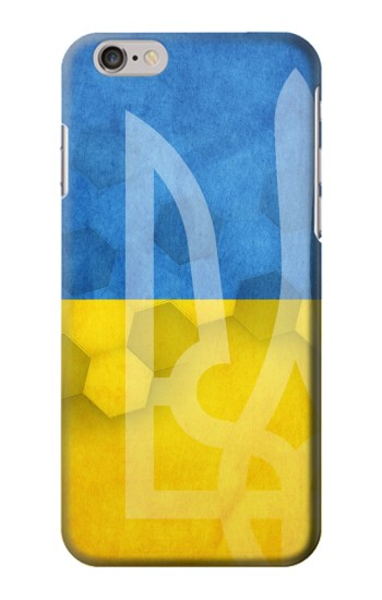 Printed Ukraine Football Flag Iphone 6 plus Case