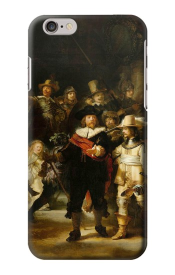 Printed The Night Watch Rembrandt Iphone 6 plus Case