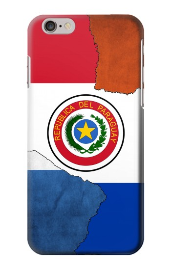 Printed Paraguay Flag Iphone 6 plus Case
