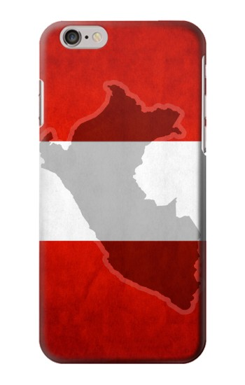 Printed Peru Flag Iphone 6 plus Case