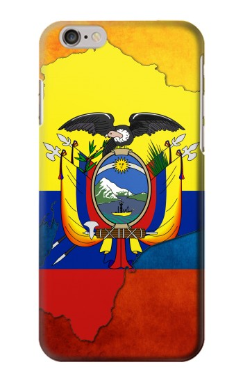 Printed Ecuador Flag Iphone 6 plus Case